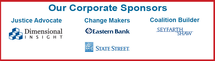 Thank you to our sponsors: Dimensional Insight, Eastern Bank, State Street Bank, Seyfarth Shaw