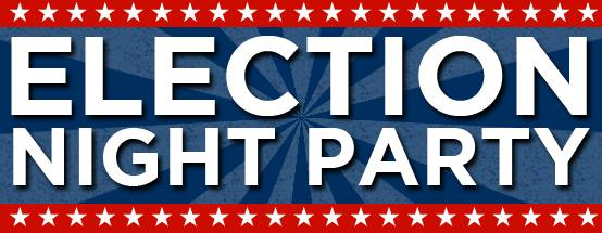 Election Night Party banner