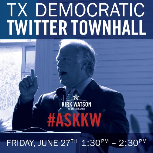 Watson Twitter Town Hall