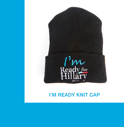 Store I'm Ready for Hillary Knit Cap