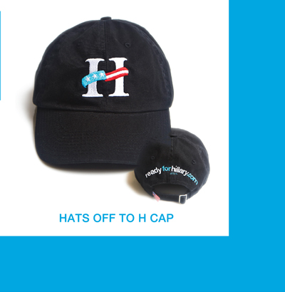 Store Hats Off to Hillary Hat