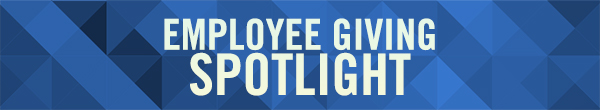 Employee Giving Spotlight